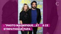 PHOTO. Alice Taglioni dévoile un instant complice entre Laurent Delahousse et son fils