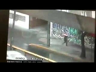 Detención de la mujer implicada en la balacera de Plaza Artz