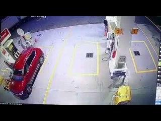Intenta huir de asalto en gasolinera en la México-Puebla