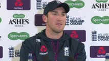 England's Craig Overton post day 1 4th Ashes Test
