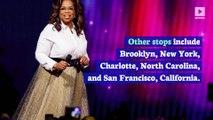 Oprah Winfrey to Go on Speaking Tour Next Year