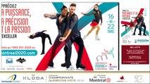 Championnats québécois d'été 2019 présenté par Kloda Focus,  Pré-Novice et Novice Couple, prog. court