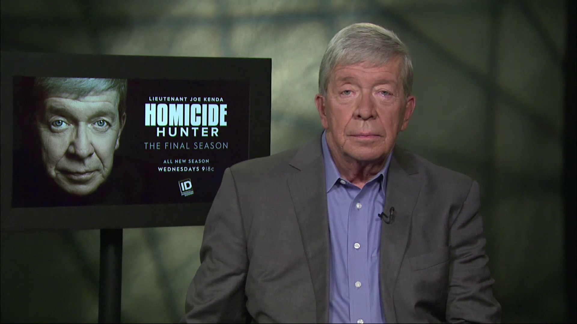 Ir Interview Joe Kenda For Homicide Hunter Investigation Discovery S9
