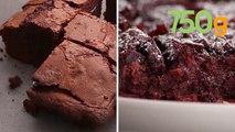 4 recettes de brownie moelleux au chocolat - 750g