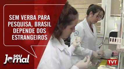Sem verba para pesquisa, Brasil depende dos estrangeiros