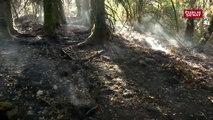 Sécheresse : les pompiers de la Creuse confrontés aux incendies