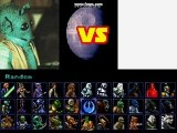 Perso du jeu Star Wars The Ultimate Battle