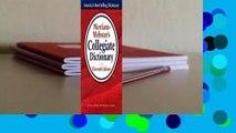 Gift Ideas Merriam Websters Collegiate Dictionary Video