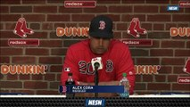 Red Sox Manager Alex Cora Applauds Eduardo Rodriguez After Win Vs. Twins