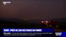Incendie dans l'Aude: près de 200 hectares sont partis en fumée à Conques-sur-Orbiel