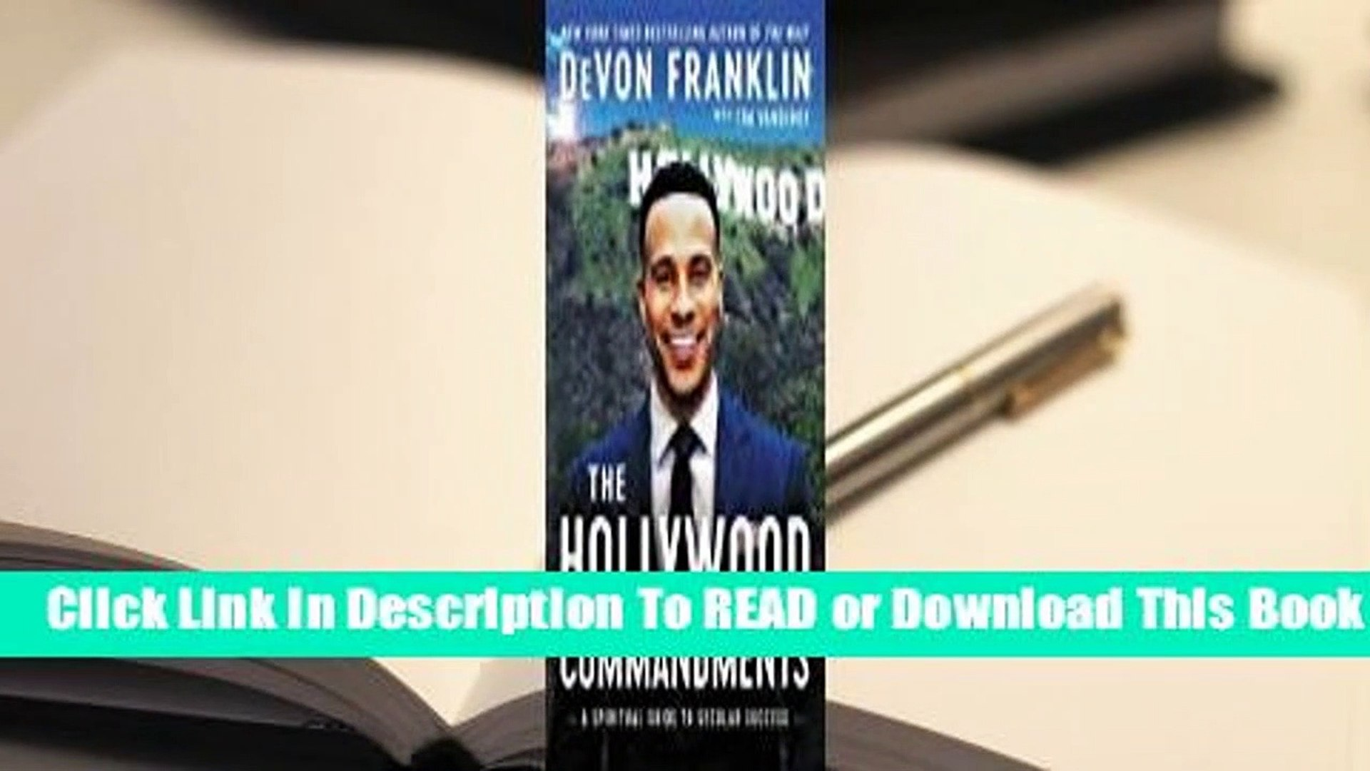 [Read] The Hollywood Commandments: A Spiritual Guide to Secular Success  For Free