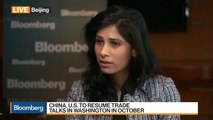 IMF Chief Economist Gopinath on Trade War, Global Economy, Policies