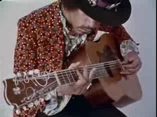 Jimi Hendrix hear my train comin (acoustic)(Videoclip)