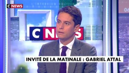 Gabriel Attal - CNews jeudi 5 septembre 2019