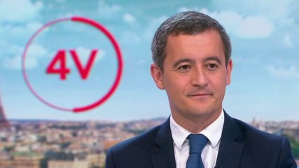 Gérald Darmanin - France 2 jeudi 5 septembre 2019