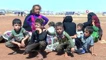 - İdlibliler Türkiye Sınırına Göçüyor- Saldırılardan Kaçan İdlibliler, Türkiye Sınırına Yakın...