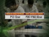 Calabarzon workers get minimum wage increase