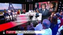 Le monde de Macron : Paris, Cédric Villani annonce sa candidature aux municipales - 05/09