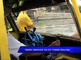 MMDA: Ferry service can cut travel time by half