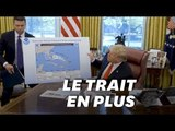 Trump a-t-il modifié la carte de la trajectoire de Dorian ?