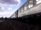 Train SNCF BB 67000 Corail ligne Rouen-Dieppe