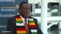 Zimbabwe President Mnangagwa on U.S. Relations, Domestic Reforms, Economy
