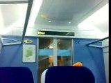 Onboard new 22000 train from Connolly-Sligo. Irish rail