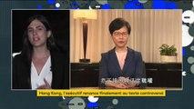 Chine : le gouvernement de Hong Kong recule