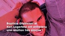 Baptiste Giabiconi a hérité de la montre que Karl Lagerfeld avait reçu de son père à 18 ans