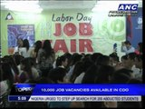 Job fairs held nationwide on Labor Day