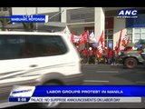 Labor groups protest lack of wage increase
