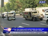LTFRB: Few complaints on 1st day of jeepney fare hike