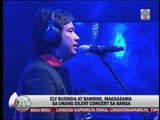 Ely Buendia, Bamboo hold first PH silent concert