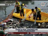 Pasay residents complain of stinky stream