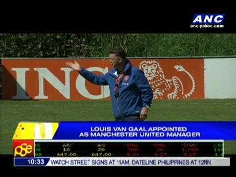 Van Gaal appointed as Man Utd manager