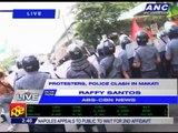 Anti-WEF protesters, cops clash in Makati