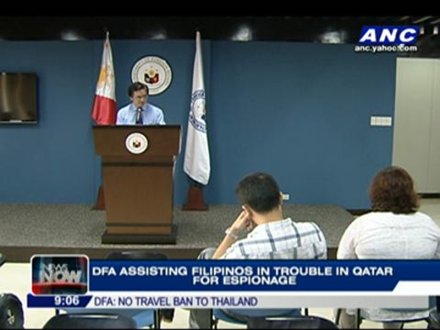 DFA assisting Pinoys in trouble in Qatar