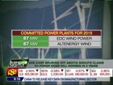 Petilla: PH will have stable power supply soon