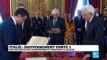 Italie : Majoritairement pro-européen, le gouvernement Conte 2 a été investi