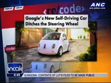 Google ditches steering wheel for new self-driving car