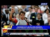 Federer out as Gublis powers into French Open quarters