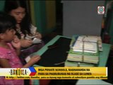 Private schools prepare for opening of classes