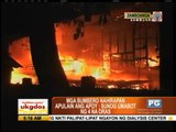 Fire razes 100 homes in Zamboanga City