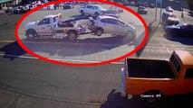 Un homme perturbé se déchaîne au volant d'une dépanneuse volée