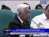 Cayetano, Brillantes clash at Senate hearing
