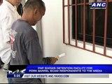 Detention cells ready 'pork scam' senators