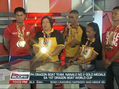 PH wins Dragon Boat World Cup medals