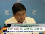 BSP keeps policy rates steady, hikes SDA rate