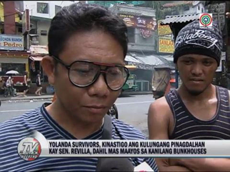 Yolanda survivors blast Revilla 'VIP treatment'