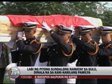 Bodies of soldiers killed in Sulu, returned to families